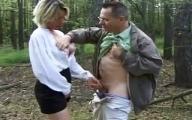 Video x Pervers se fait Pisser dessus dans la Forêt